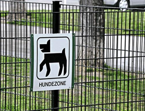 Freilauf- und Hundezonen Etikette