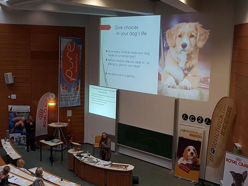 Anne Lill Kvam zum Thema Wahlmöglichkeiten für Hunde