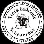 Logo anerkannter Praxisbetriebe der Tierakademie Scheuerhof