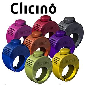 Ringklicker Clicino in verschiedenen Farben