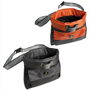 Eqdog Click'n Treat Leckerlibeutel in grau und orange